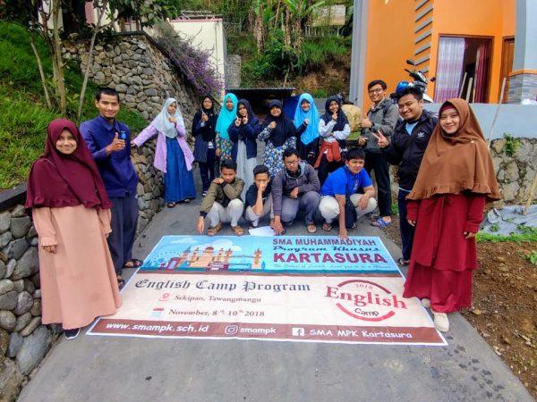 English Camp of SMA MPK Kartasura.. Is an Amazing Self Improvement